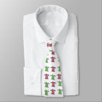 Cravate Tortues