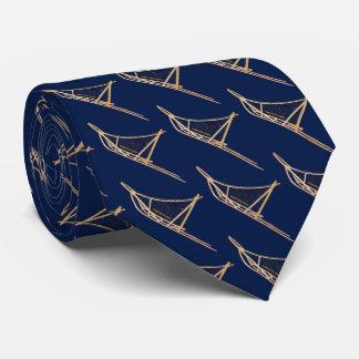 Cravate Transporteur postal de traîneau de chien de