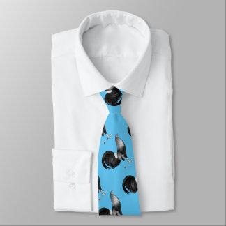 Cravate Trappe de rouge de coq de combat