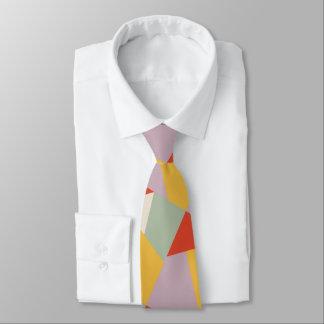 Cravate Triangles géométriques modernes audacieuses