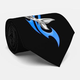Cravate tribale de dauphin