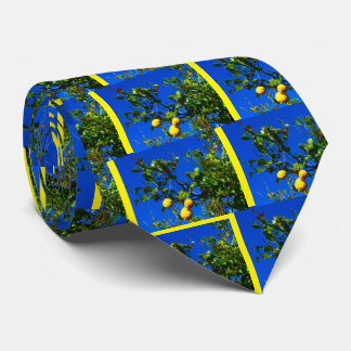 Cravate Trois citrons siciliens