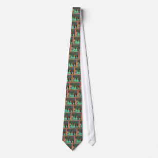 Cravate Trou dans un