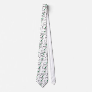 Cravate Ukulélé mercredi de Portland