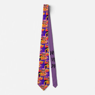 Cravate Usage fol de cou du crâne de la vie