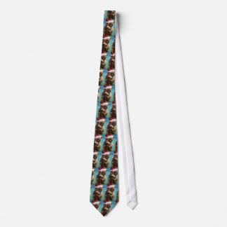 Cravate Vers le bas sous le koala de Noël
