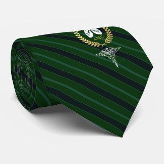 Cravate Vert de coutume de thérapeute respiratoire du