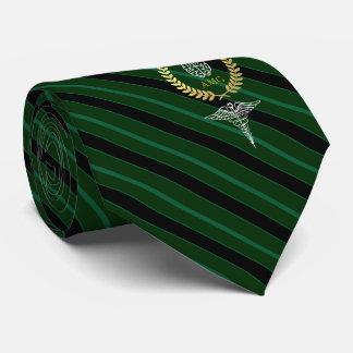 Cravate Vert personnalisé par cerveau médical