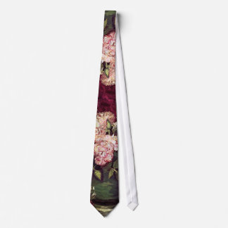 Cravate Vincent van Gogh - cuvette avec des pivoines et