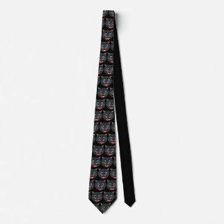 Cravate vintage #2 de chat noir des années 1930