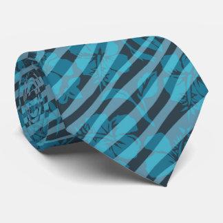 Cravate vintage rayée de Hawaïen de ketmie