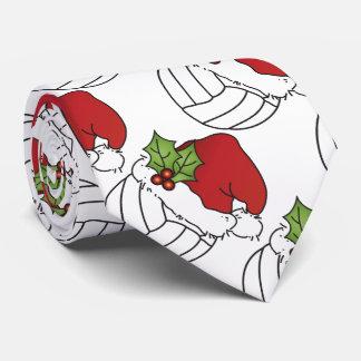 Cravate Volleyball de Noël