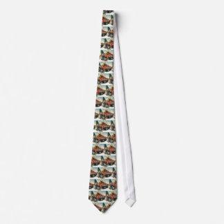 Cravates Affaires vintages, camion de notation avec des