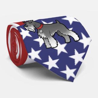 Cravates Ajoutez votre propres animal familier et drapeau