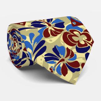 Cravates Aloha à simple face tropical de révolution