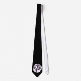 Cravates Arbres de silhouette de spiritualité de nature