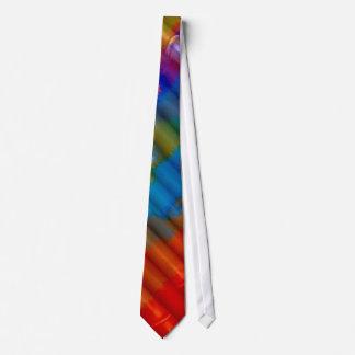 Cravates Art abstrait #40 de couleur