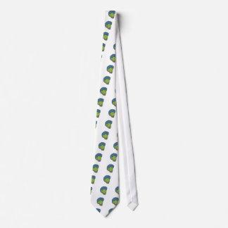 Cravates Art de crasse de pirate de Buccaneer