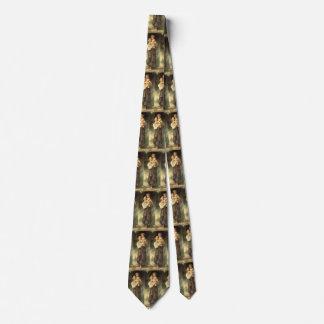 Cravates Art victorien, frère et soeur par Bouguereau