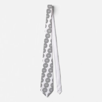 Cravates aztec_calender