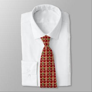 Cravates Bande dessinée de biscuits de pain d'épice de