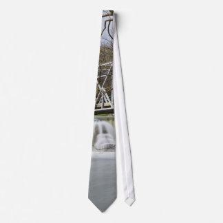 Cravates Barrage de Finley après la pluie