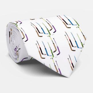 Cravates Bâtons de hockey de gardien de but