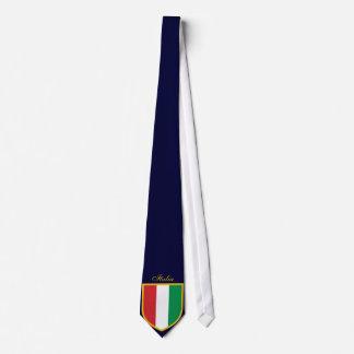 Cravates Beau drapeau de l'Italie