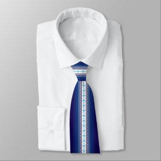 Cravates Bleu de nation de papillon