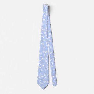 Cravates Bleu de Sleigh