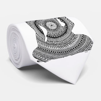 Cravates Bouddha GraphiZen