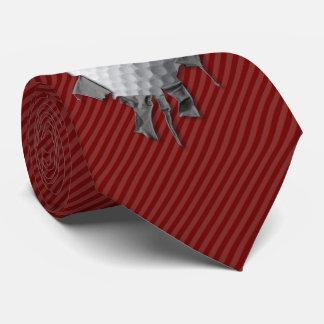 Cravates Boule de golf déchirée