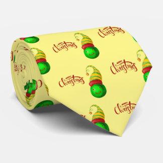 Cravates Boule heureuse de Noël de visage