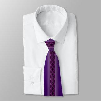 Cravates Buffalo dépiste le pourpre