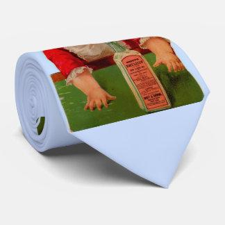 Cravates Carte commerciale victorienne : Huile de ricin de