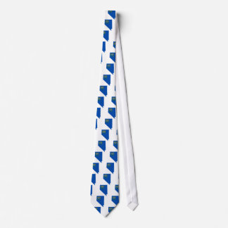 Cravates Carte de drapeau du Nevada