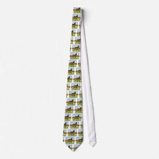 Cravates Casquette graphique du tiret W d'âne de