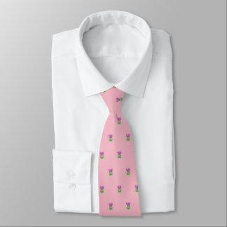 Cravates Chardon mignon (bleu d'oeufs de merle)