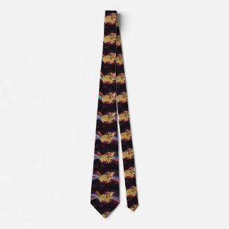 Cravates Chat de licorne - chat de taco - chat de l'espace