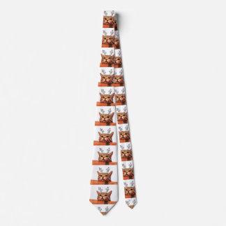 Cravates Chat de petit gâteau - bon et le mauvais - ange et