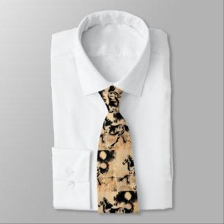 Cravates Cheval par clair de lune