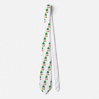 Cravates Chien de Boston Terrier du jour de St Patrick