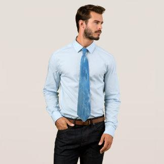Cravates Ciel bleu