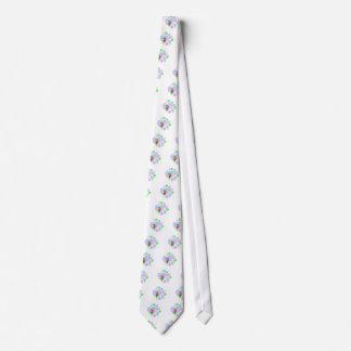 Cravates Coeur de singe d'amusement