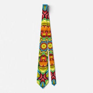 Cravates colorées de rayon de soleil