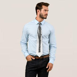 Cravates comme je dégrossis avec des arbres