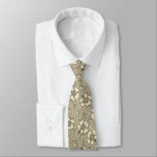 Cravates Copie hawaïenne de Pareau de ketmie de Malia