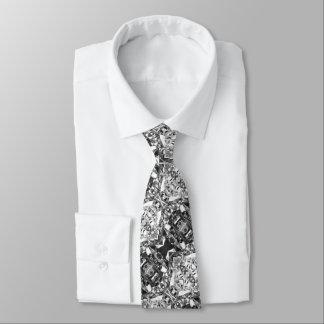 Cravates Couleur d'argent de conception de papier