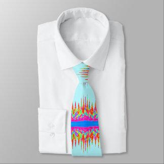 Cravates Couleurs de magie d'arc-en-ciel de bleu de ciel