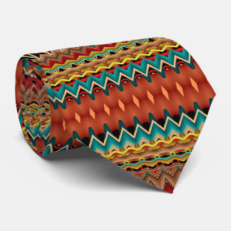 Cravates Couleurs de sud-ouest de fractale
